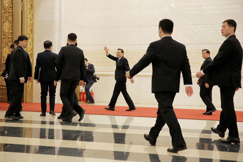 © Reuters. El primer ministro chino dice que pueden usar los tipos y otros medidas para impulsar la economía