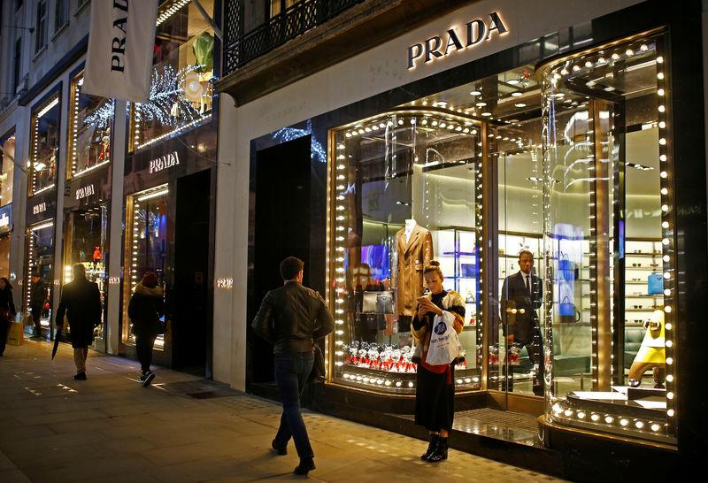 Prada posts rise in 2018 sales despite second-half slowdown