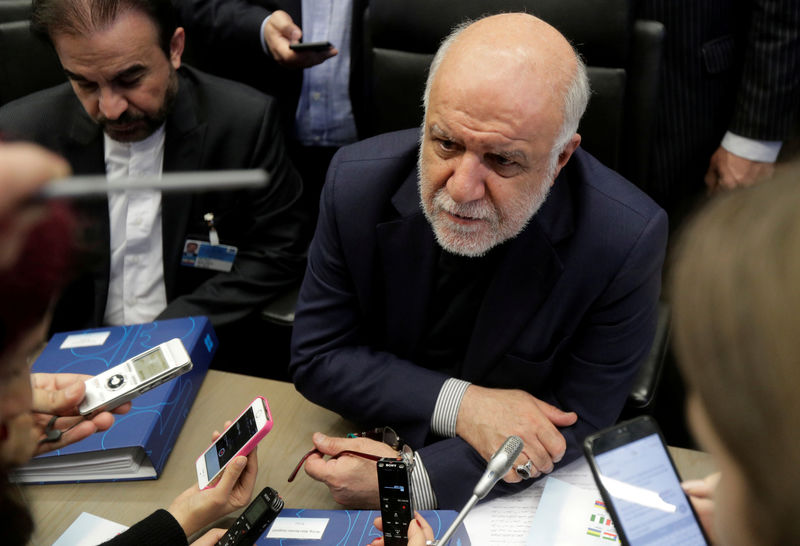 Iran's oil minister blames U.S. for market tensions