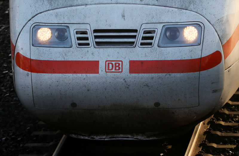 Net profit at Germany's Deutsche Bahn drops by one third - sources