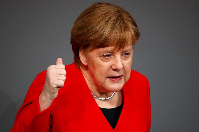 Merkel knüpft Brexit-Aufschub an Bedingungen