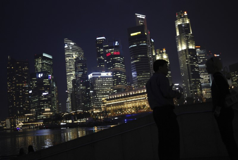 Singapore's core inflation rate hits nine-month low as central bank decision looms