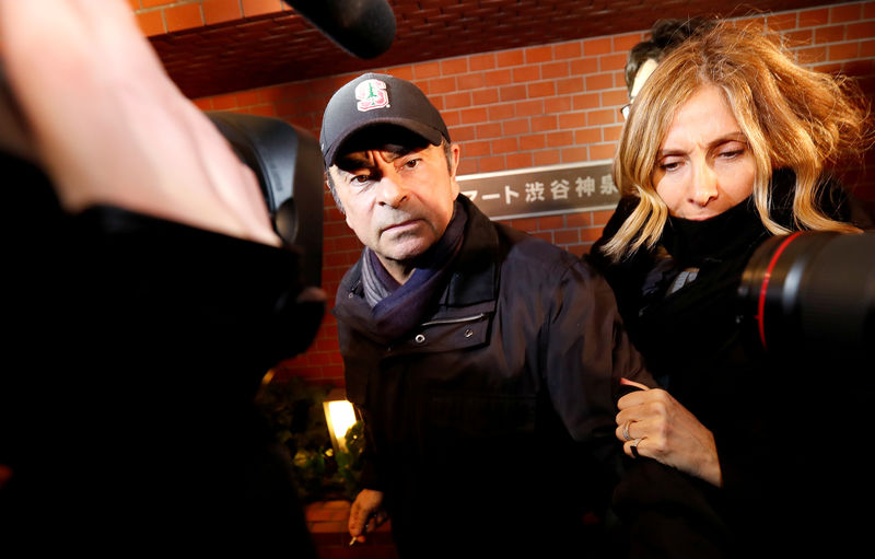 Wife of ex-Nissan boss Ghosn appeals to French government for help