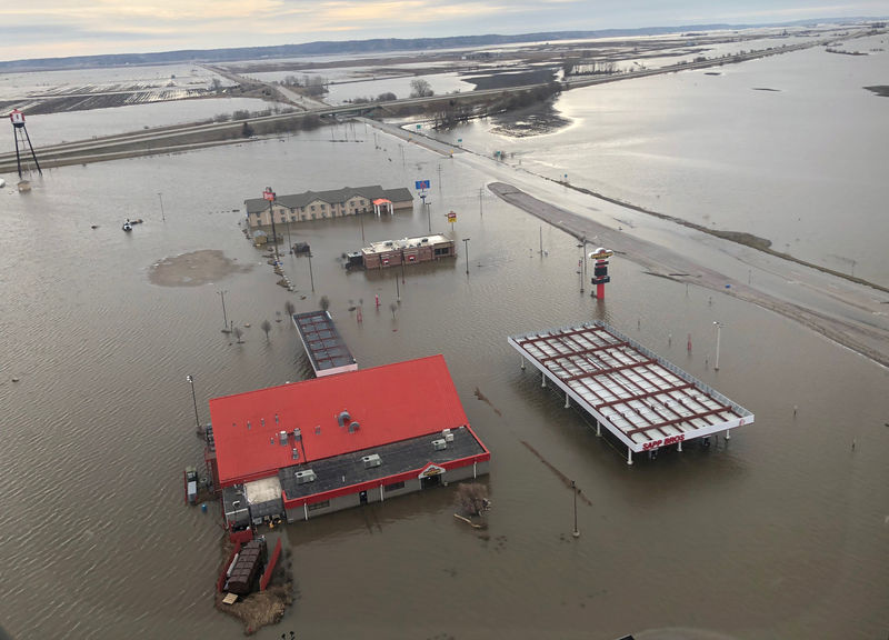 Midwest floods hammer U.S. ethanol industry, push some gasoline prices toward five-year high