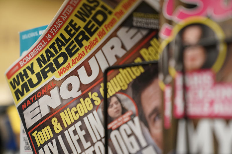 National Enquirer for sale as tabloid feels heat from its own scandals