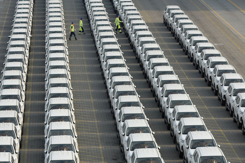 China auto sales drop at smallest pace in seven months, tax cuts help