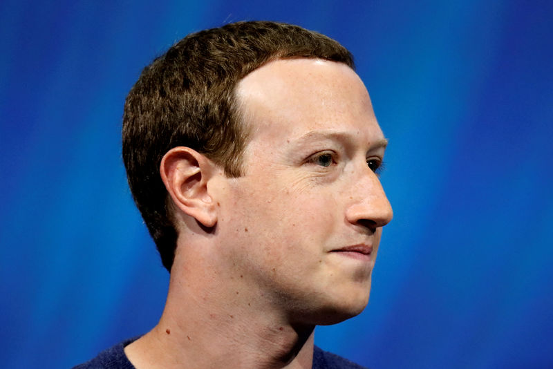 © Reuters. FILE PHOTO: Facebook founder and CEO Mark Zuckerberg will speak at the top of Viva Tech start-up and technology in Paris