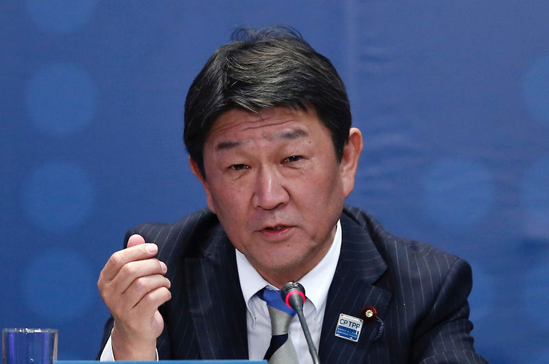 Japan and U.S. hold 'frank and good' trade talks: economy minister