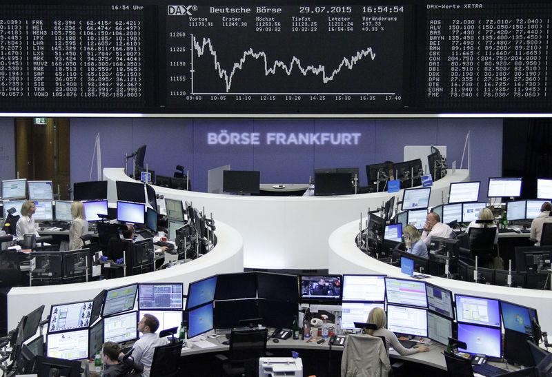 Stocks march on as European volatility vanishes