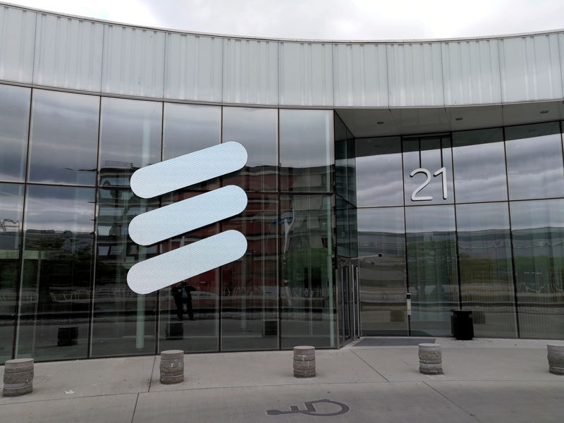 Image result for Ericsson shares hit four-year high after profit tops forecasts for fifth quarter