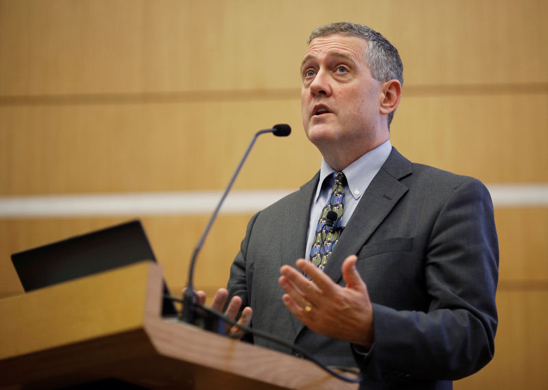 Fed's Bullard says economic data should improve, yield curve steepen in coming months
