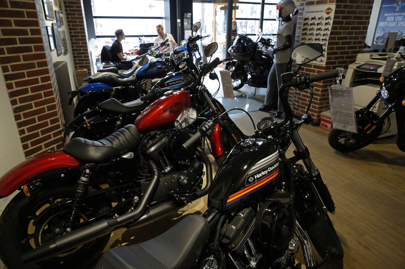 Harley Davidson profit falls 26.7 percent