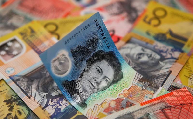 © Reuters. Австралийские доллары