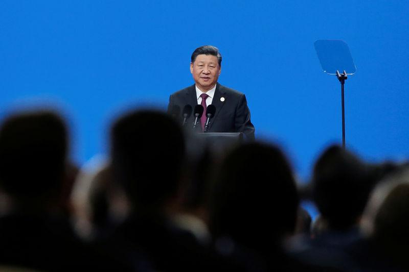 Nach Eskalation im Handelsstreit predigt Chinas Präsident Xi Offenheit