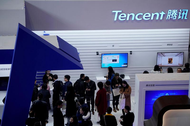 Tencent profit tops forecast as fintech and cloud revenues surge