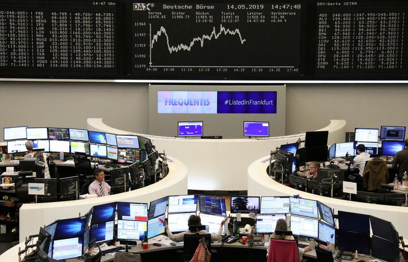 © Reuters. قطاع السيارات يدفع أسهم أوروبا للصعود بدعم آمال تأجيل الرسوم