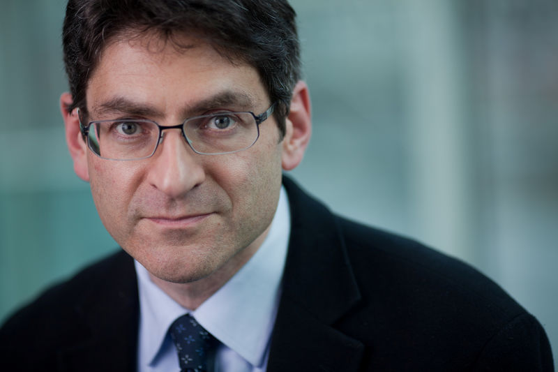 © Reuters. FILE PHOTO: Professor Jonathan Haskel, who has just been appointed to the Monetary Policy Committee of the Bank of England, is seen in this undated portrait released by HM Treasury in London
