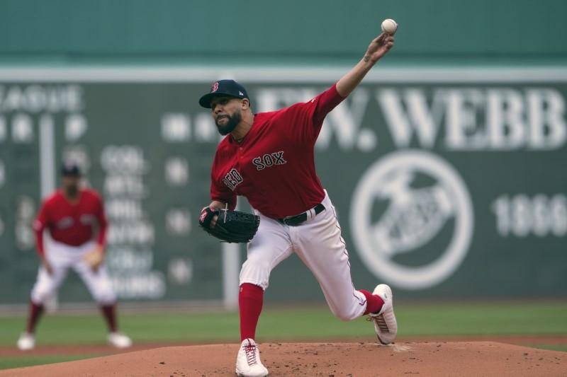 © Reuters. MLB: Tampa Bay Rays at Boston Red Sox