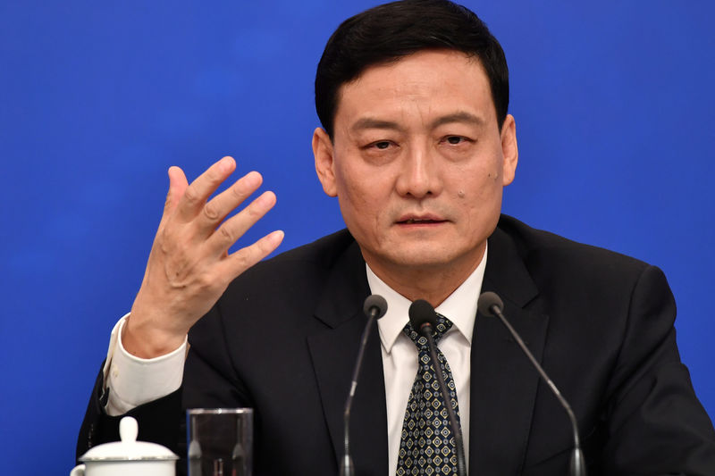 China appoints state asset chief as new market regulator
