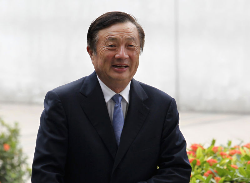 Huawei founder says growth 'may slow, but only slightly' after U.S. restrictions