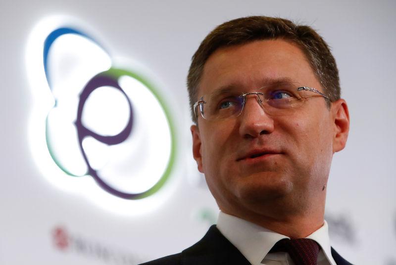 © Reuters. نوفاك: عدة خيارات بشان اتفاق النفط من بينها زيادة الإنتاج