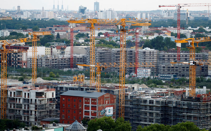 © Reuters. The 'Europacity' construction site is pictured in Berlin