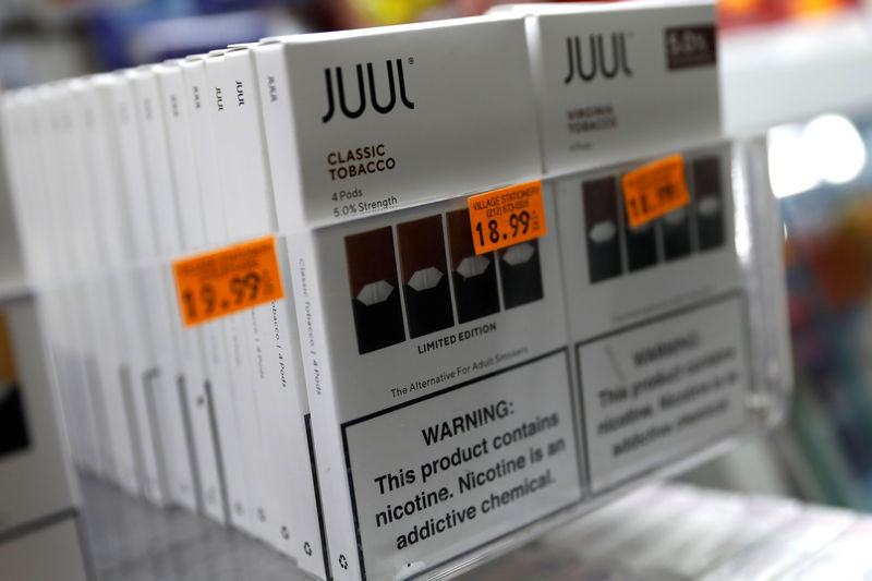 Nearly half of Juul's Twitter followers are too young to buy e-cigarettes - study