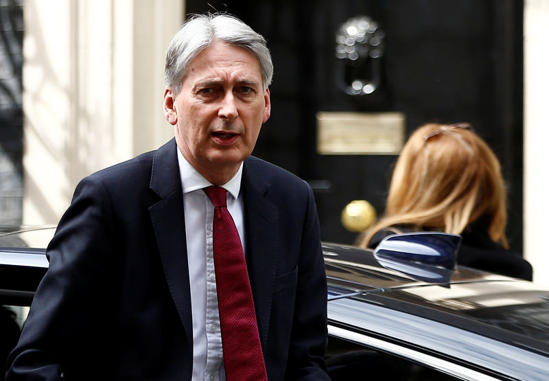 Hammond - Backing a 'no deal' Brexit means deliberately harming economy