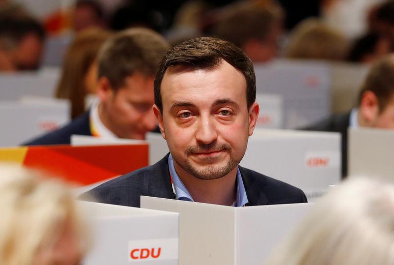 © Reuters. Christian Democratic Union party congress in Hamburg