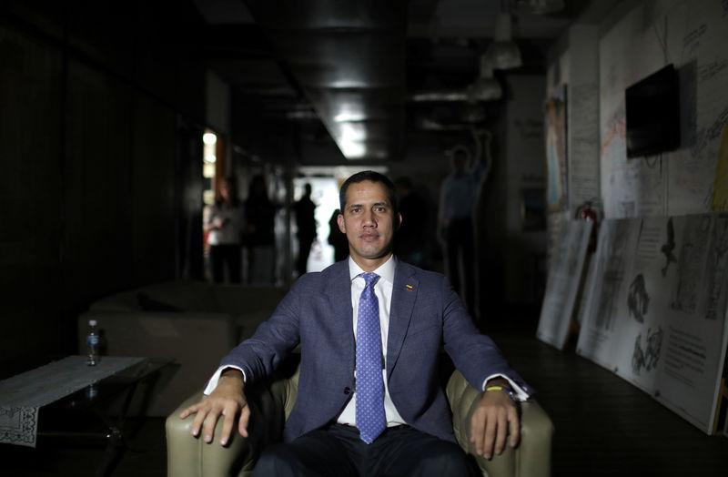 Exclusive: Guaido says Washington should help Venezuela keep U.S. refiner Citgo