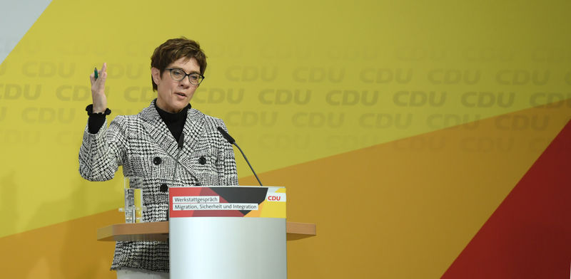 © Reuters. German CDU to host conference on migration, integration and security
