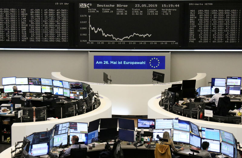 European shares inch higher after Trump signals on trade By