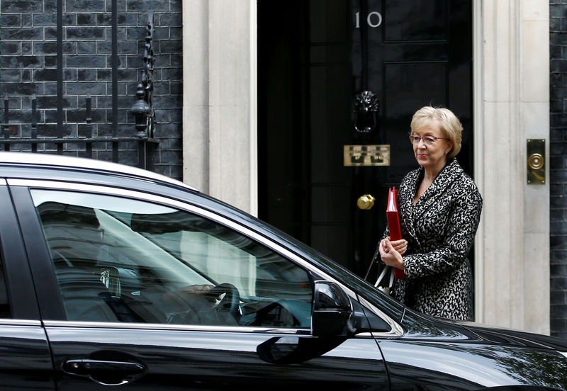 Ex-House of Commons leader Leadsom enters race to be next British PM - media