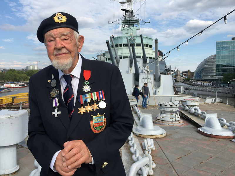 Blood and thunder at sea: British veteran remembers D-Day
