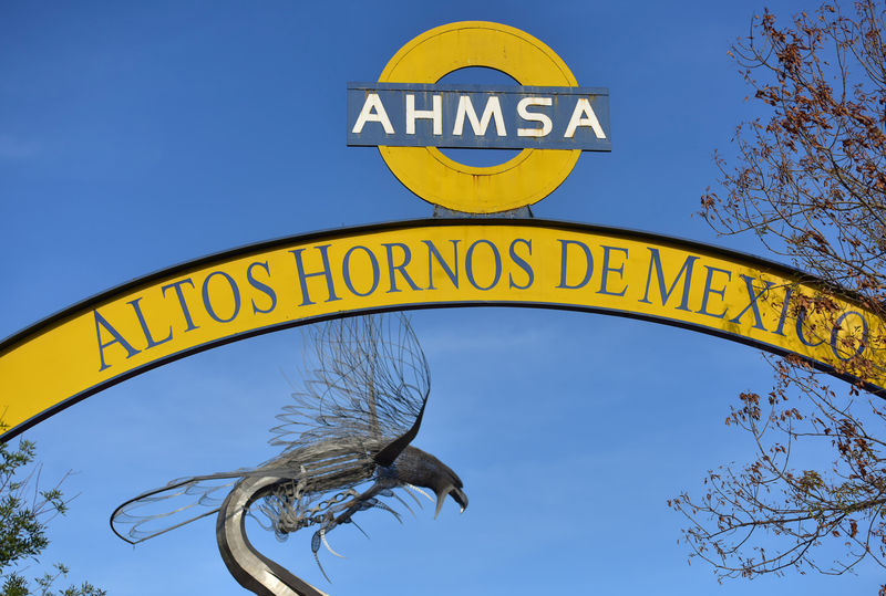 Mexican steelmaker AHMSA says accounts 'improperly' frozen by government