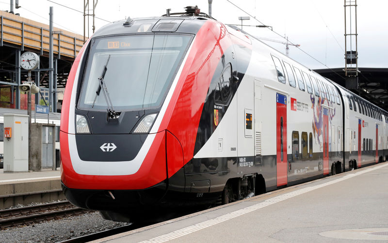 Bombardier declines comment on Swiss train deal profitability