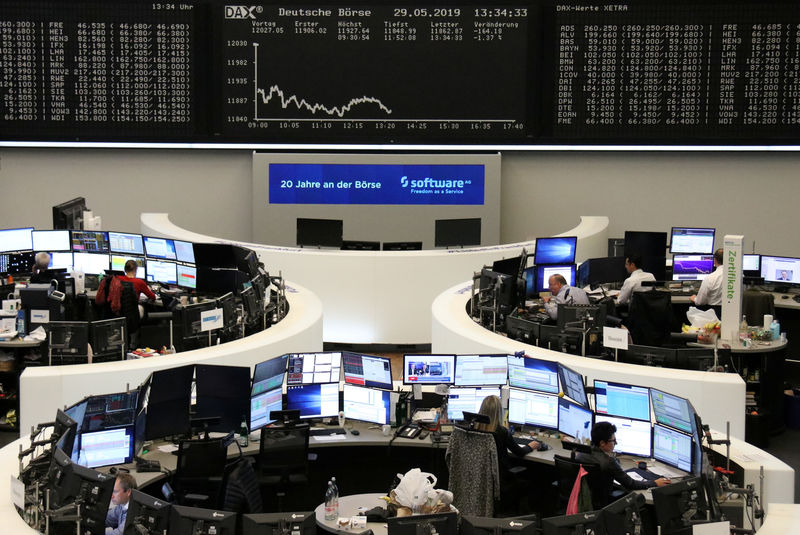 e8dcf11f61 The German share price index DAX graph at the stock exchange in Frankfurt