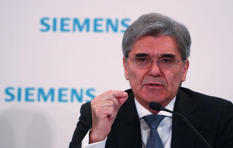 Siemens-Chef für Industriepolitik Europas im Wettstreit mit Trump & Co