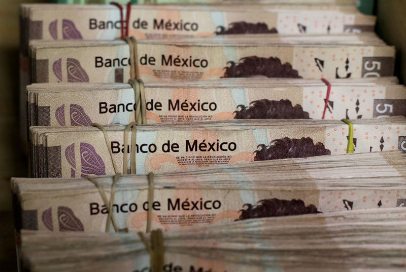 Fitch downgrades Mexico and Moody's lowers outlook, hammering peso