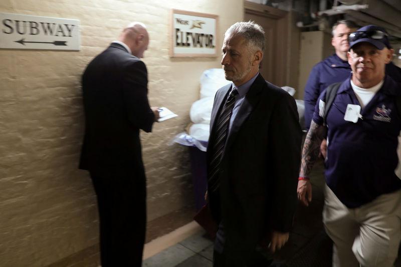 © Reuters. FILE PHOTO: Stewart walks between meetings at the U.S. Capitol in Washington