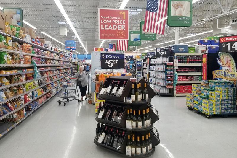 © Reuters. مبيعات التجزئة الأمريكية ترتفع في مايو وتعديل بيانات أبريل ارتفاعا