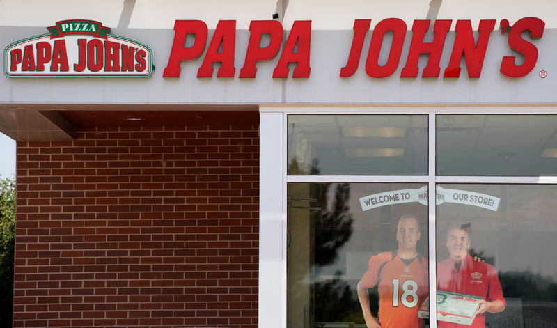 © Reuters. The Papa John's store in Westminster