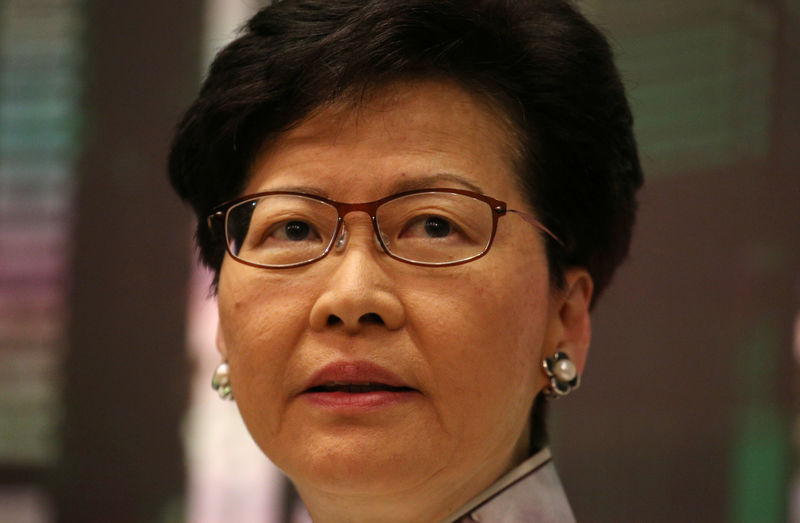Embattled Hong Kong leader Lam suspends China extradition bill