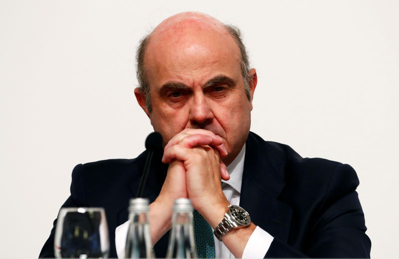 ECB will act if inflation expectations are de-anchored - de Guindos