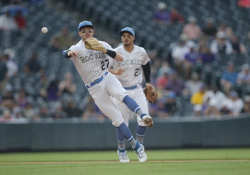 © Reuters. MLB: San Diego Padres at Colorado Rockies