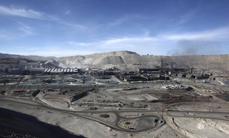 Chile's Chuquicamata copper mine operations halved amid strike: Codelco