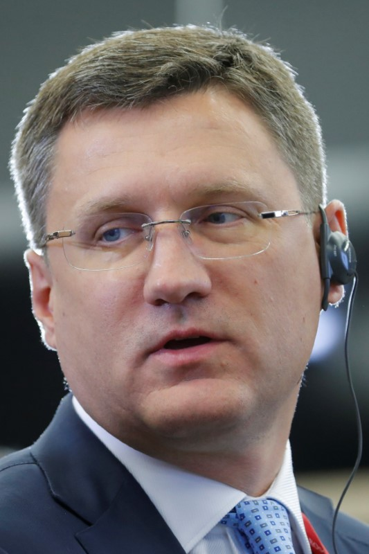 © Reuters. روسيا تقول من السابق لأوانه تحديد مستقبل اتفاق النفط العالمي
