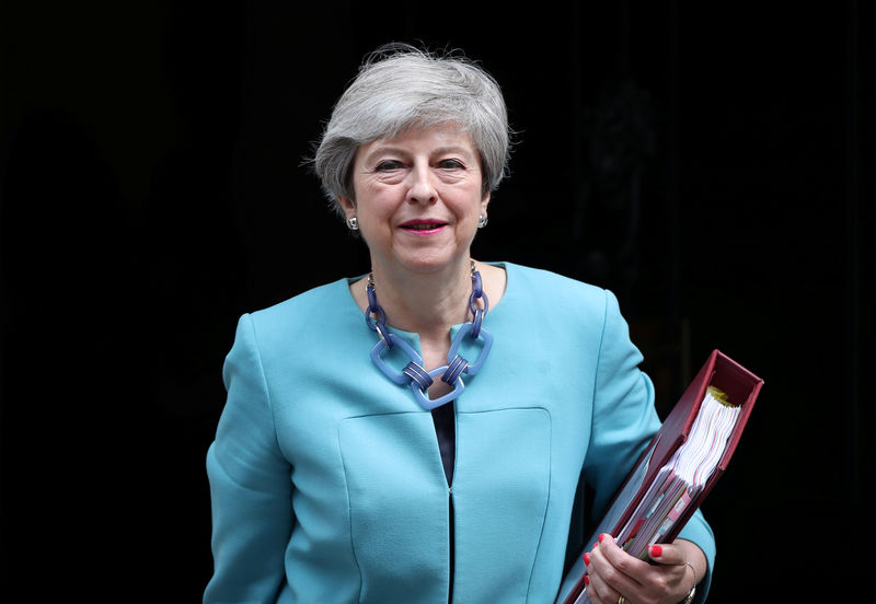PM May has not told anyone who she supports to replace her - spokesman