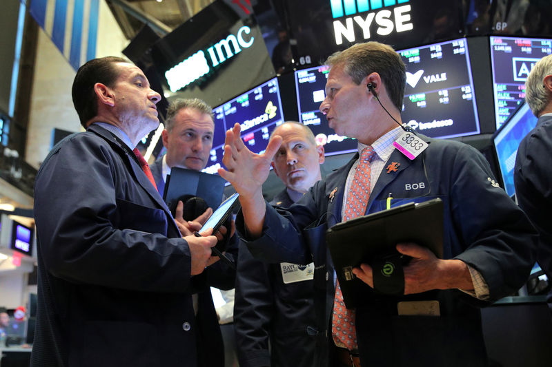 Bang-up week on Wall Street ends with a whimper