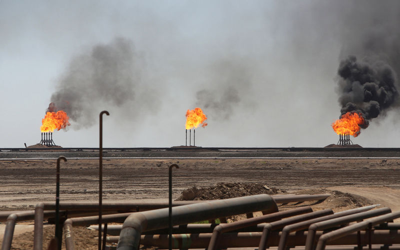 Oil prices up on U.S.-Iran tensions